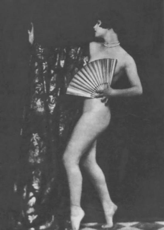 John de Mirjian- Louise Brooks nude Positive, 1925 ( by me)