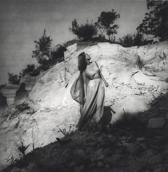 Olive Cotton-   Dancer And Sandstone c1940