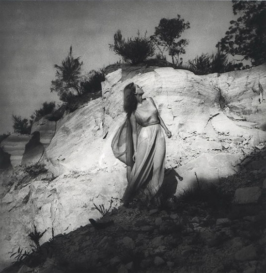 Olive Cotton-   Dancer And Sandstone c1940