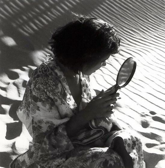 Olive Cotton-  Girl With Mirror 1938