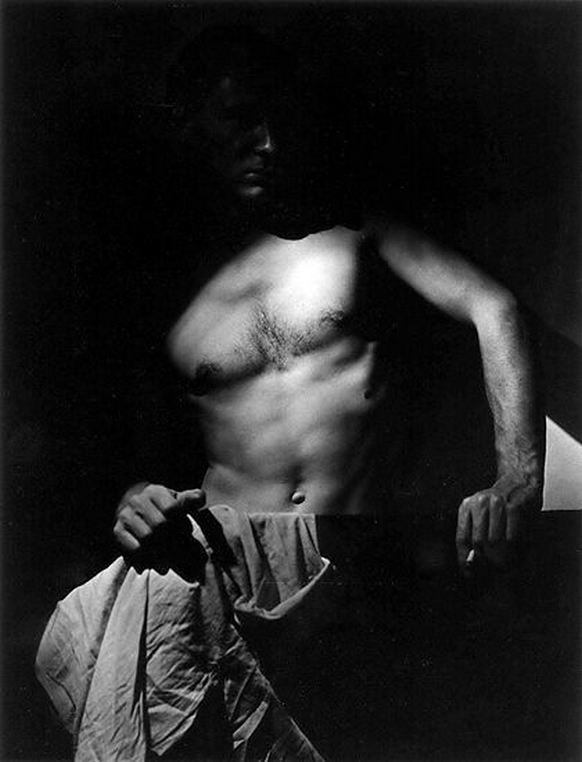 Olive Cotton-  Max ( Dupain) After Surfing 1939