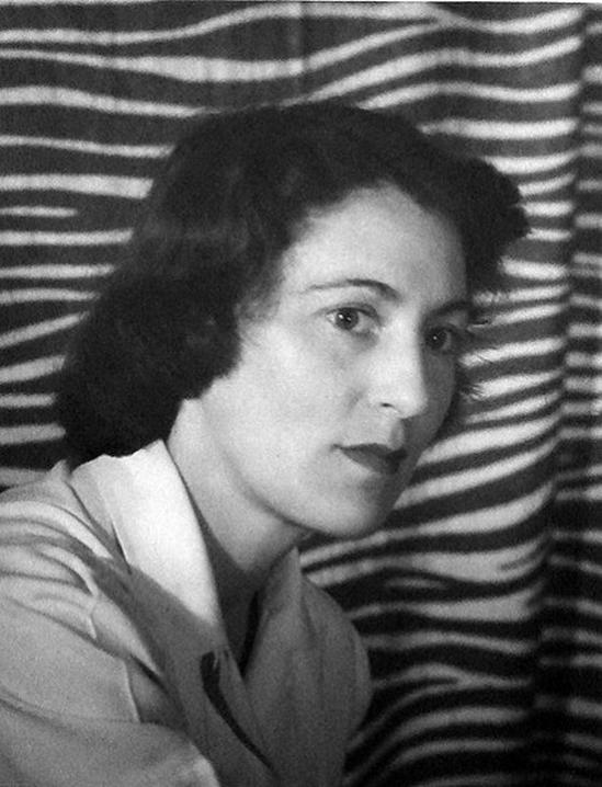 Olive Cotton Self-Portrait, 1943