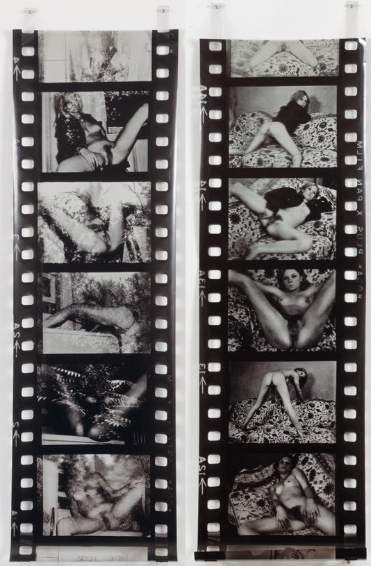 Robert Heinecken- Porno film strip #2 & #4 , 1974