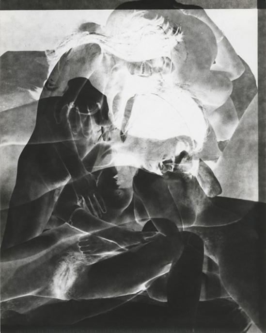 Robert Heinecken- Study 31 ,1970 ,Black and white photogram