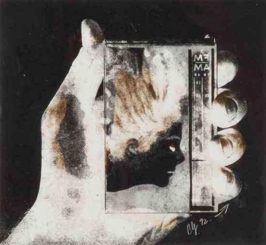 Wallace Berman- Untitled 40 , Wallace Berman , from Verifax Collages's series around 1964