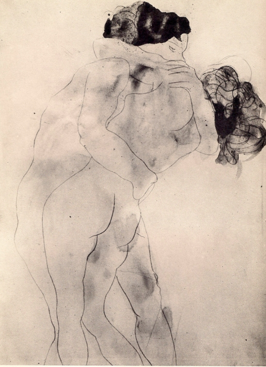 Auguste Rodin, le baiser, The Embrace, n.d. (1900-06)