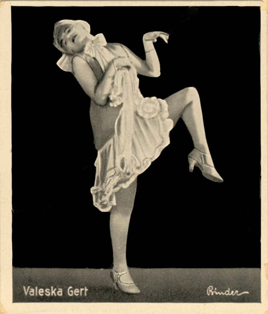 Binder Valeska Gert , 1926