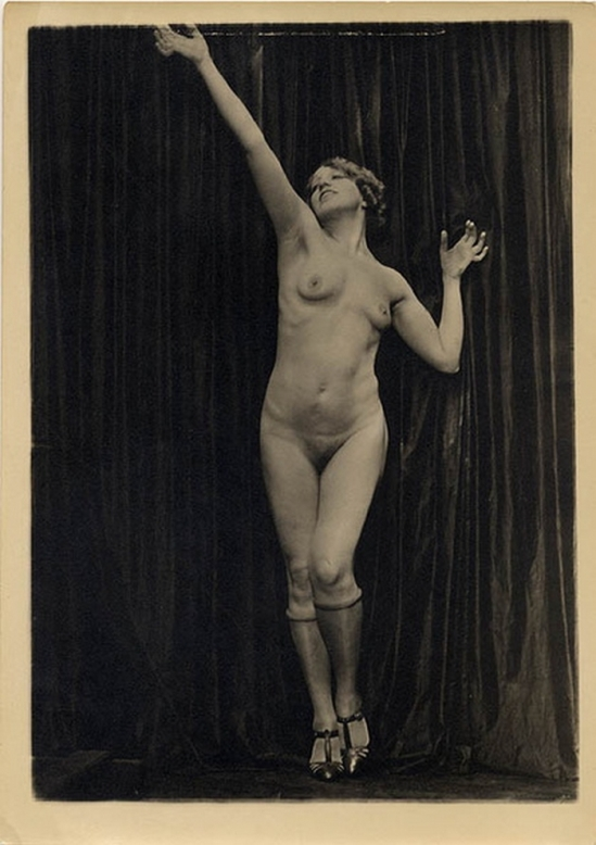 Charles Gates Sheldon - Study model Elsie Behrens , 1920s