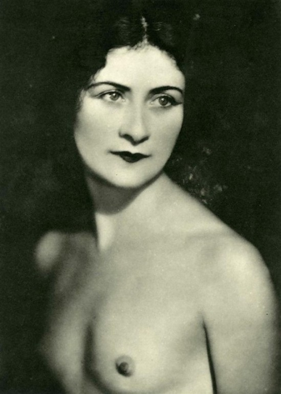 Daniel Masclet – Mona Paiva , photogravure, 1933