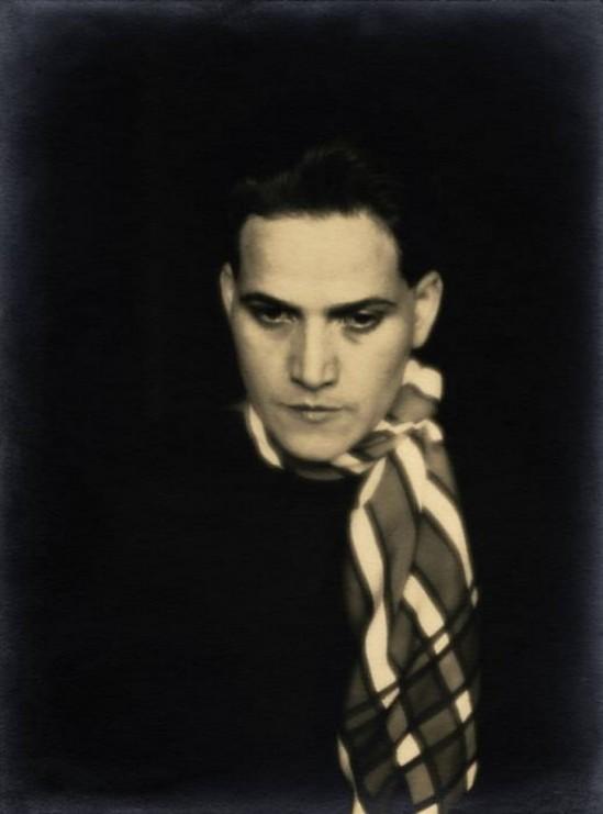 Daniel Masclet-Femme au foulard , (Francesca), 1927