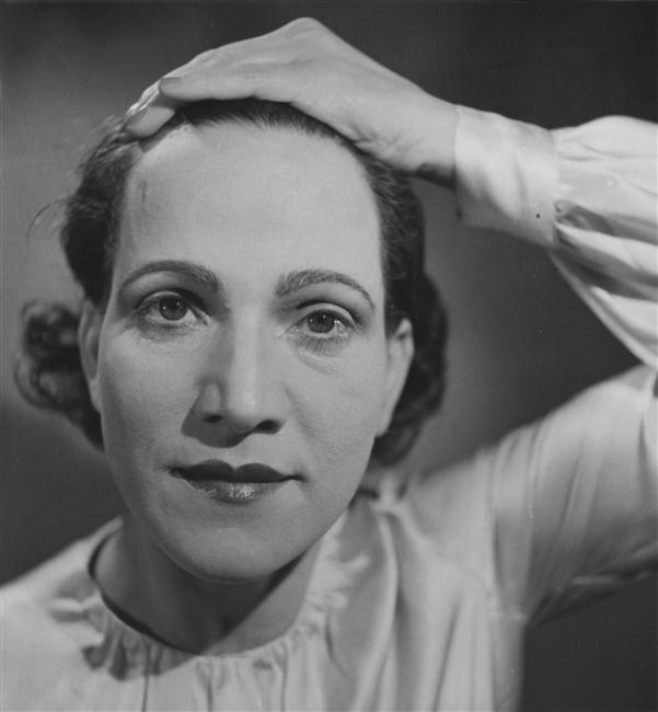 Daniel Masclet- Portrait de Francesca Masclet, vers 1939