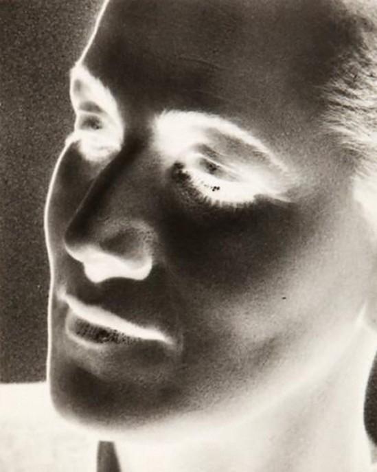Daniel Masclet- Portrait solarisé de Francesca Masclet, 1935