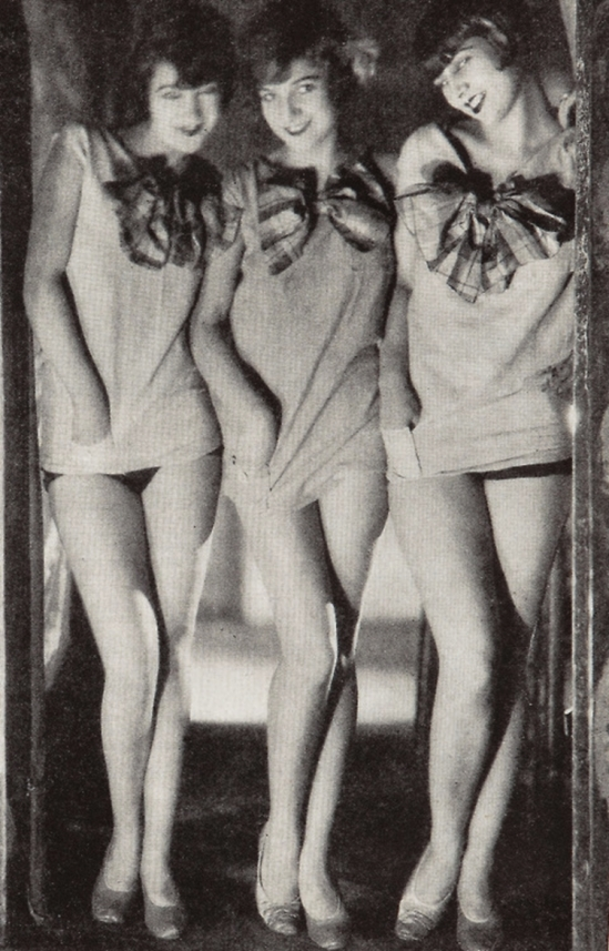 James Abbe - Sisters G, 1920