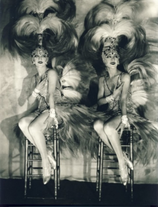 James Edward Abbe The Dolly Sisters 1927