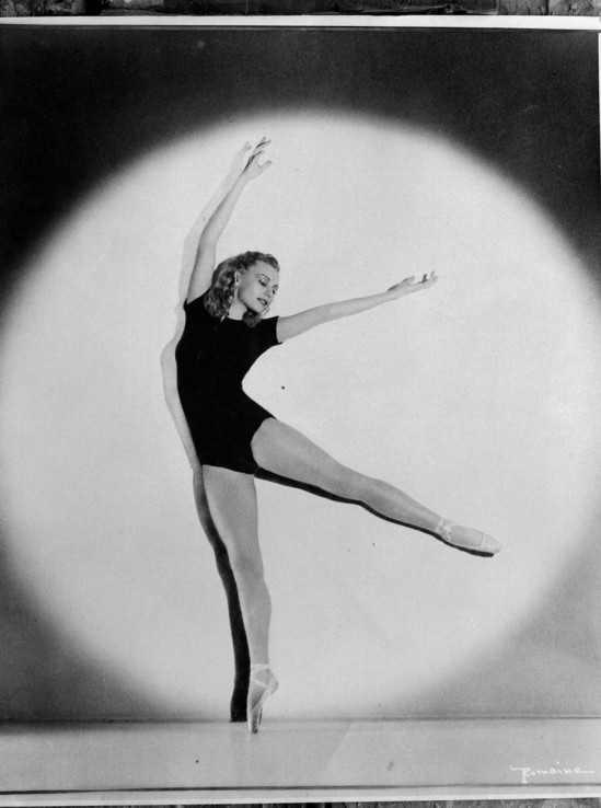 Maurice Seymour Ballet Russe (Russian Ballet) ( dancer Romaine)   season, 1939-1940, photographed for Australian and New Zealand Theatres Ltd.Maurice Seymour's Chicago photographs