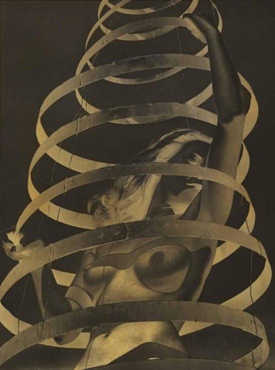Paul Heismann – Nude Abstraction (Untitled [Solarized Female Nude]), 1939