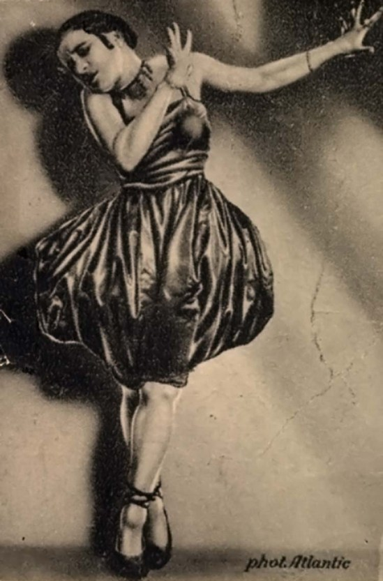 Photo Atlantic- Valeska Gert, 1918-19