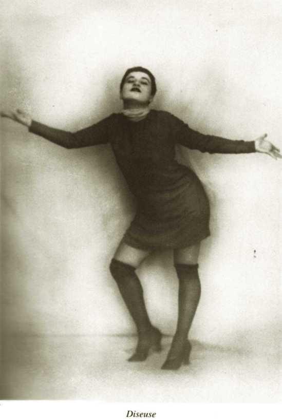 Unknown photographer- Diseuse, Portrait Of Valeska Gert, 1919