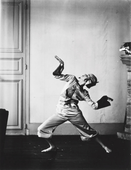 Berenice Abbott- The dancer James Joyce's daughter  Lucia Joyce , 1928