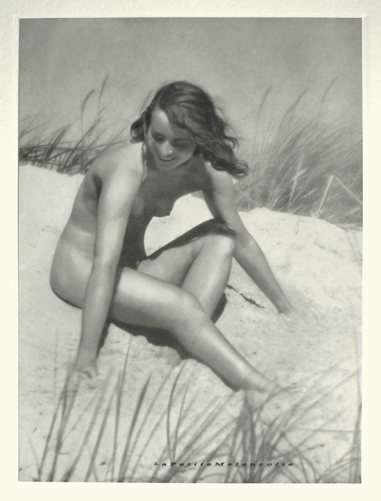 Bruno Schultz- Nude, plate 3,Portfolio Das Deutsche Aktwerk edited Bruno Schultz , 1938