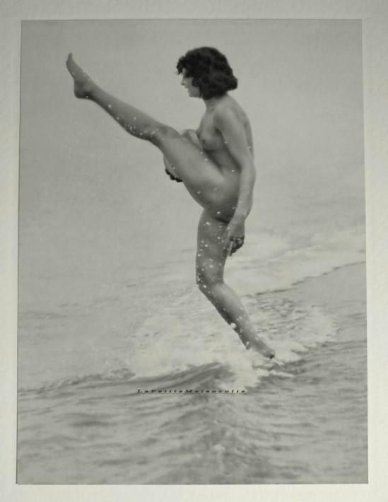 Bruno Schultz- Nude, plate 6 ,Portfolio Das Deutsche Aktwerk edited Bruno Schultz , 1938
