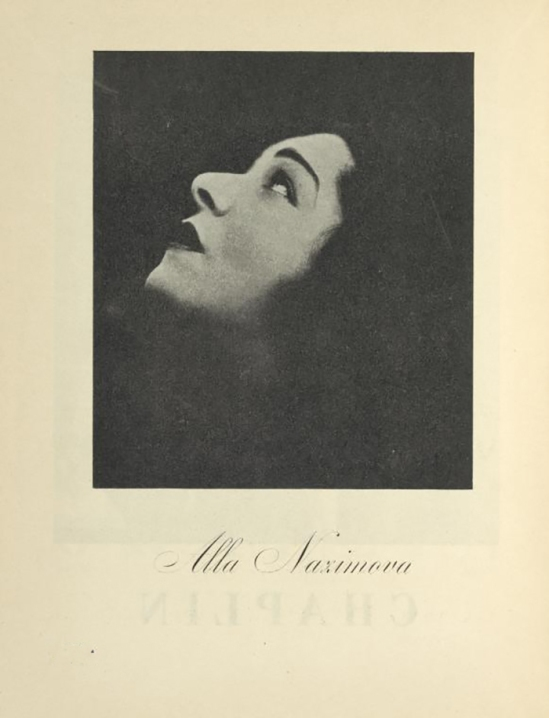 E. O Hoppé- Alla Nazimova published In ReD( Dirrected ans published by Karel Teige), issue # 1, 1927-28
