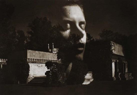 Edmund Teske Gertrude Teske composite Hollyhock House of Frank Lloyd Wright, 1974