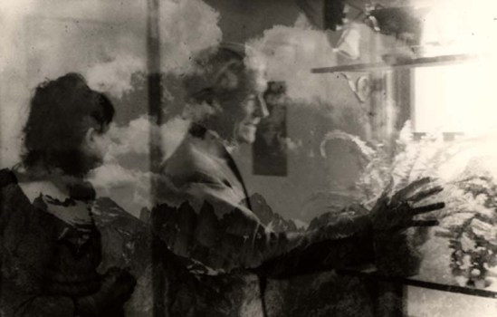 Edmund Teske Jaques Henri Lartigue composite Mt. Whitney, 1972