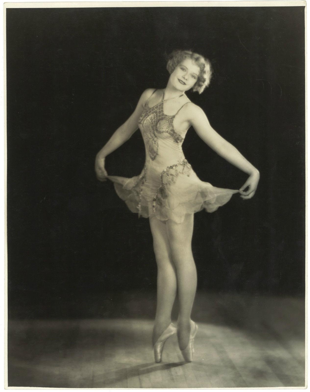 Edward Bower Hesser -The acrobatic dancer,Muriel Garnier,1920-1925