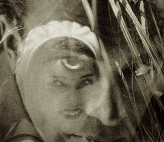 Edward Steichen – Conrad Veidt, Hollywood, August, No. 2 (double exposure with Lupe Vélez), detail ,1928