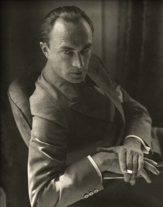 Edward Steichen- German actor Conrad Veidt ,Vanity Fair - October 1929