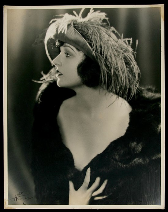 Edwin Bower Hesser – Corinne Griffith(, Pose#5) , 1925-30
