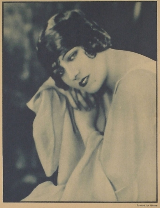 Edwin Bower Hesser- Gloria Swanson, -Garden of Girls, November 1925