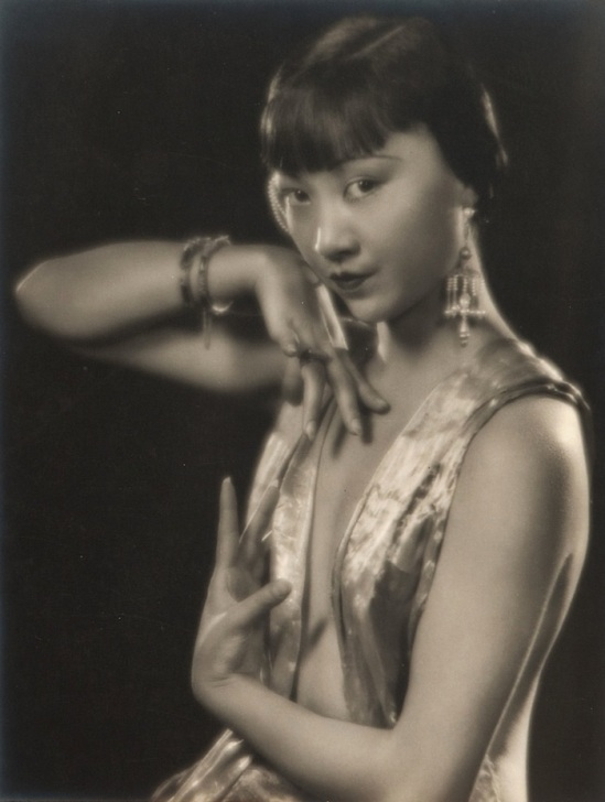 Edwin Bower Hesser - portrait Anna May Wong , 1920-1925