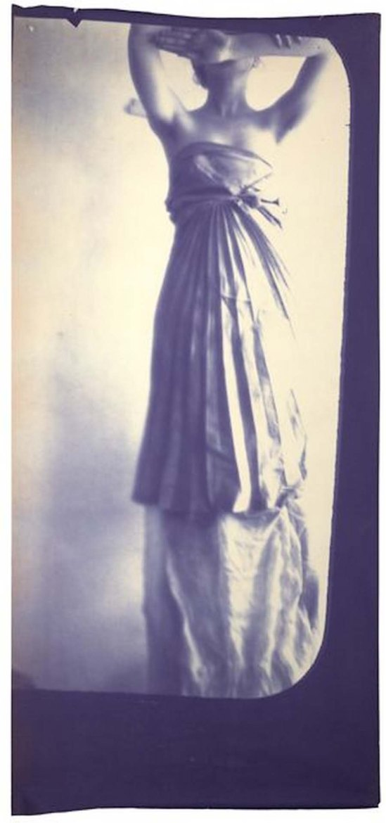 Francesca Woodman-Caryatid, New York, 1980