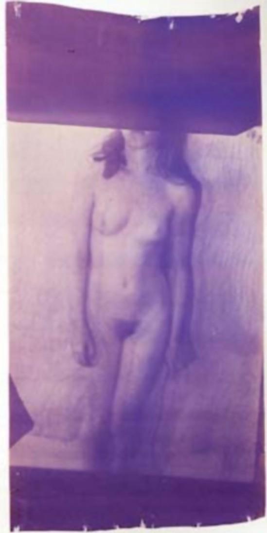 Francesca Woodman, Caryatid, New York, 1980