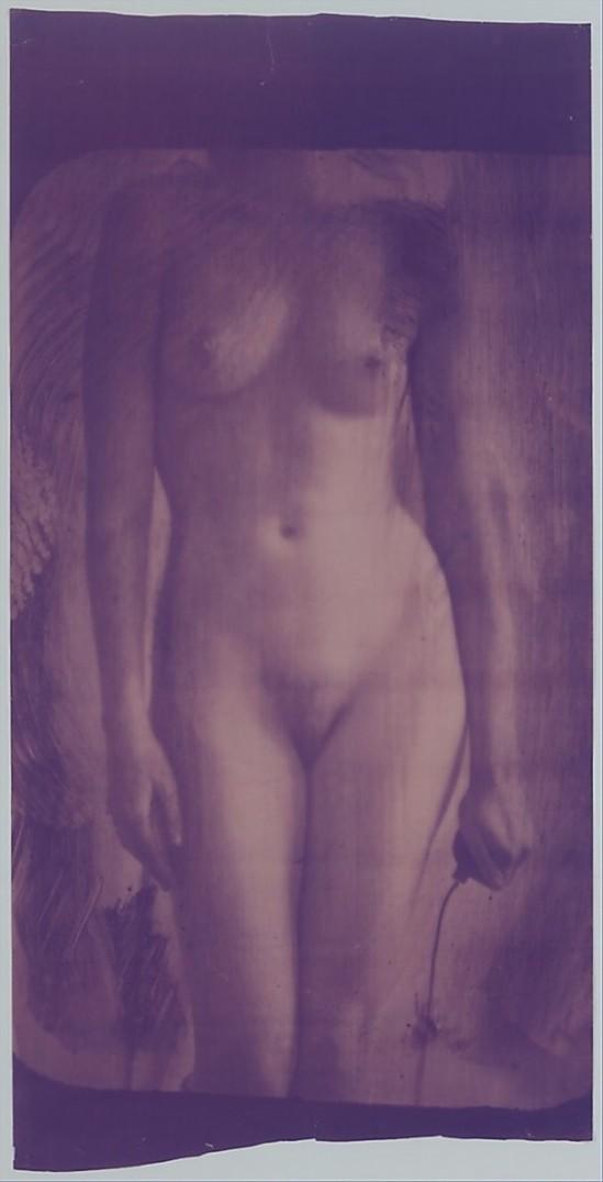 Francesca Woodman-Caryatid, New York, 1980