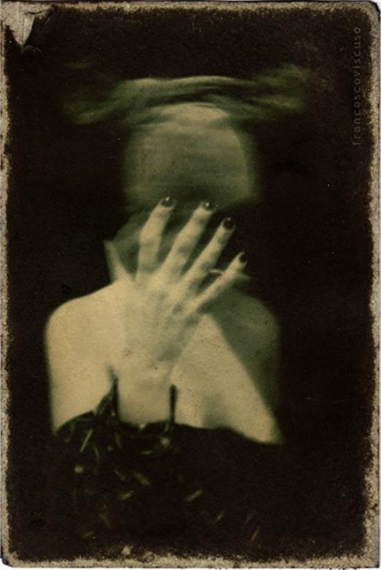 Francesco Viscuso -CARNIVAL MOTEL 15- Portrait of Kate, 2011