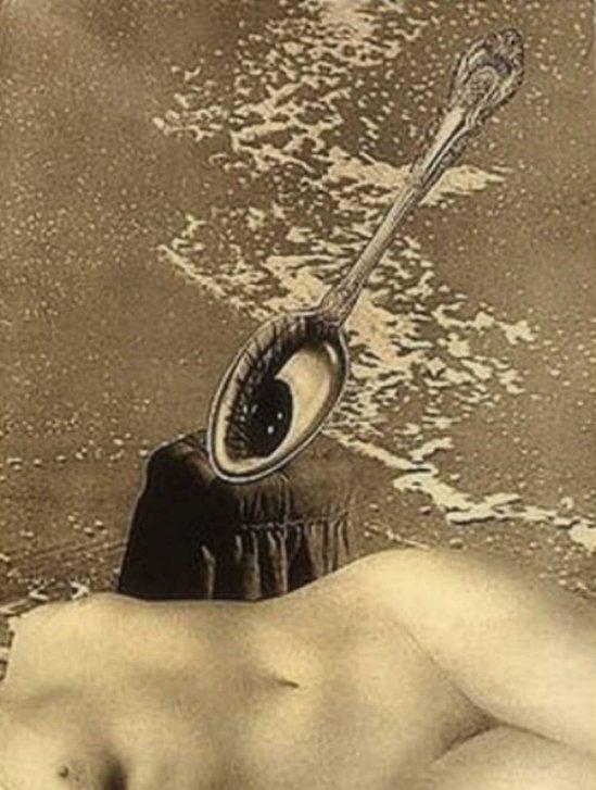 František Vobecký -  After the Low Tide, 1936 photomontage