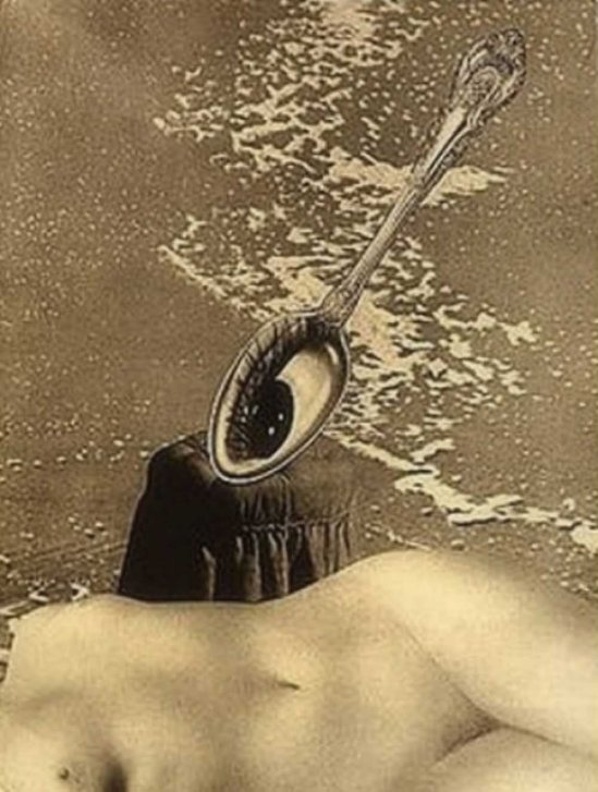 František Vobecký -  After the Low Tide, 1936 photomontage