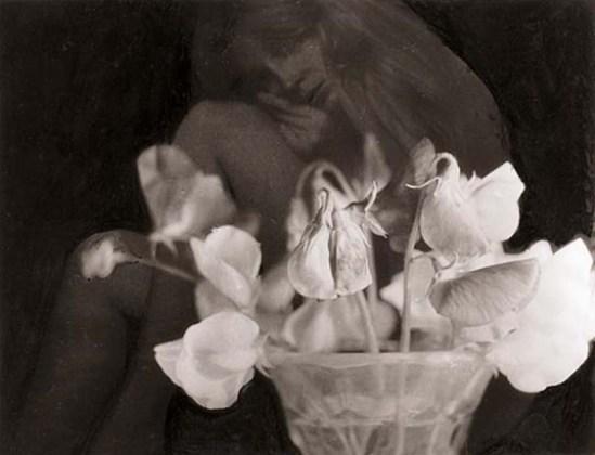 František Vobecký-Flower with nude, 1970