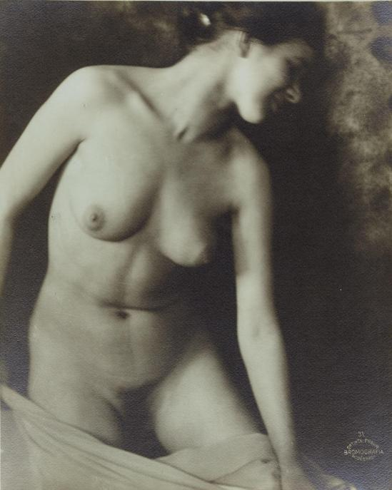 frantisek-drtikol-1883-1961-nude-with-veil-1923-vintage-silver-print-bromografia-on-green-toned-paper-printed-in-the-1920s