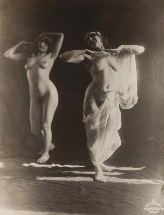 Frantisek Drtikol- Untitled compositions with pairs of nudes-, 1912-1920s
