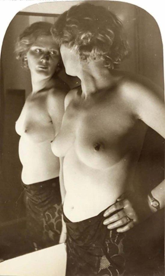 © Franz Roh - Nu devant le miroir, 1928-1934