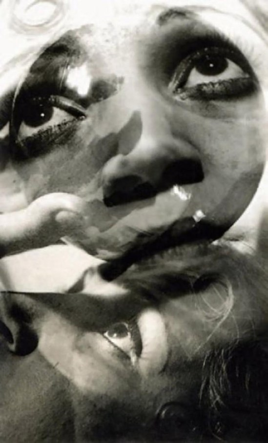 Jean Moral (1906-1999)  Sans titre (surimpression de visages), 1926_e