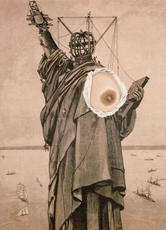 Jindřich Štyrský, Statue of Liberty, 1934 (collec Sny)
