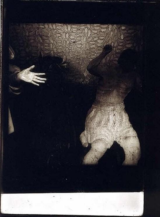 Jindřich Štyrský- Sur les aiguilles de nos jours, 1934-35( Plaque de verre argentique)