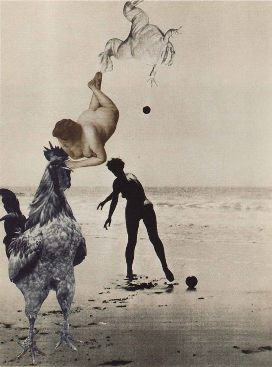 Jindřich Štyrský- Untitled, c. 1931. Collage, 15.5 x 11.5 cm. Ubu Gallery NY and Galerie Berinson, Berlin