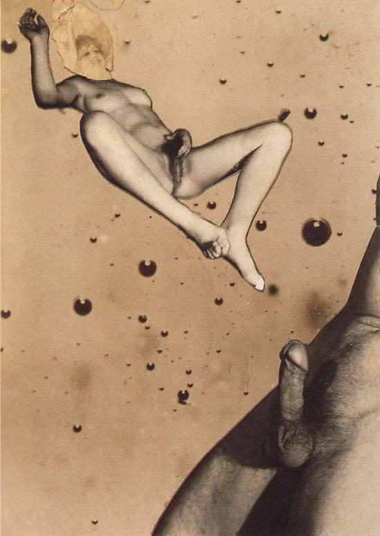 indřich Štyrský- Untitled, c. 1932. Collage, 15.5 x 11.5 cm. Ubu Gallery NY and Galerie Berinson, Berlin