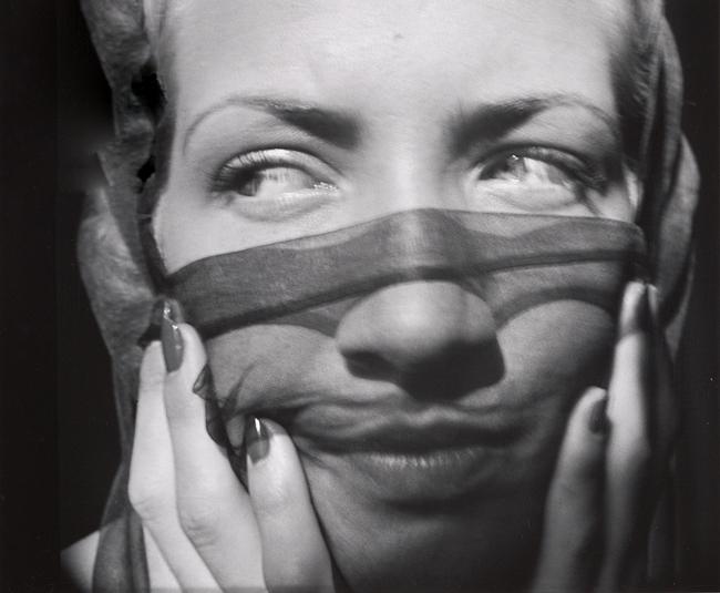 John Gutmann- Above the Veil, Her Eyes, 1935 11